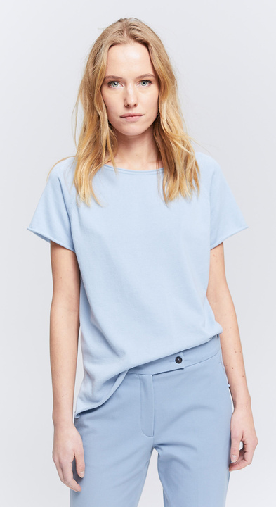Fine Cotton Top met Kapmouw