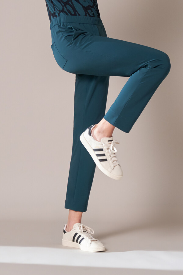 CASUAL DRAWSTRING PANTS DEEP TEAL
