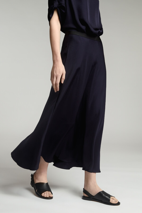 LONG SWAN SKIRT JAPAN BLUE
