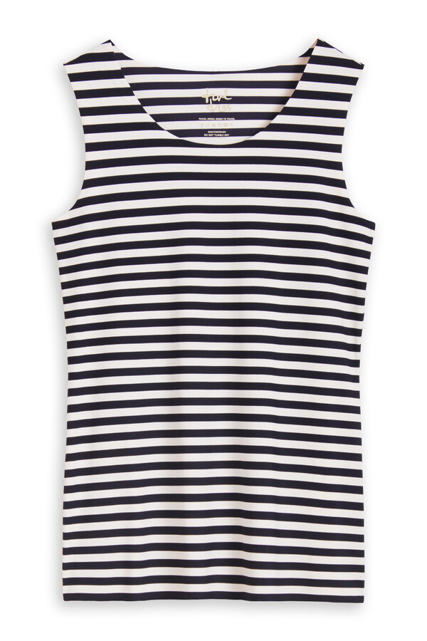 TANK TOP STRIPE INK BLUE