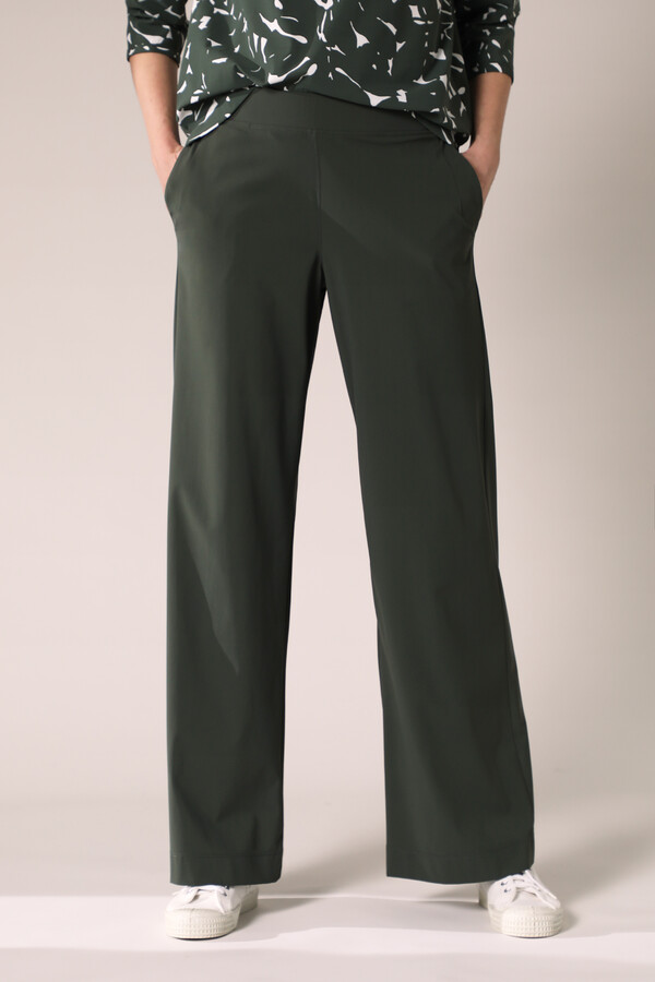 WIDE LEG PANTS GREEN