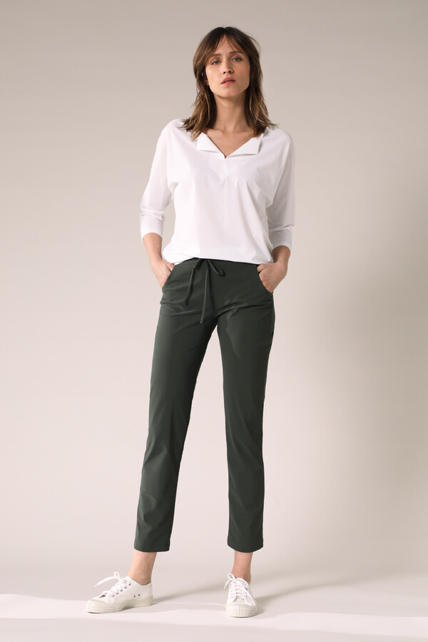 RELAXED WORK PANTS GREEN