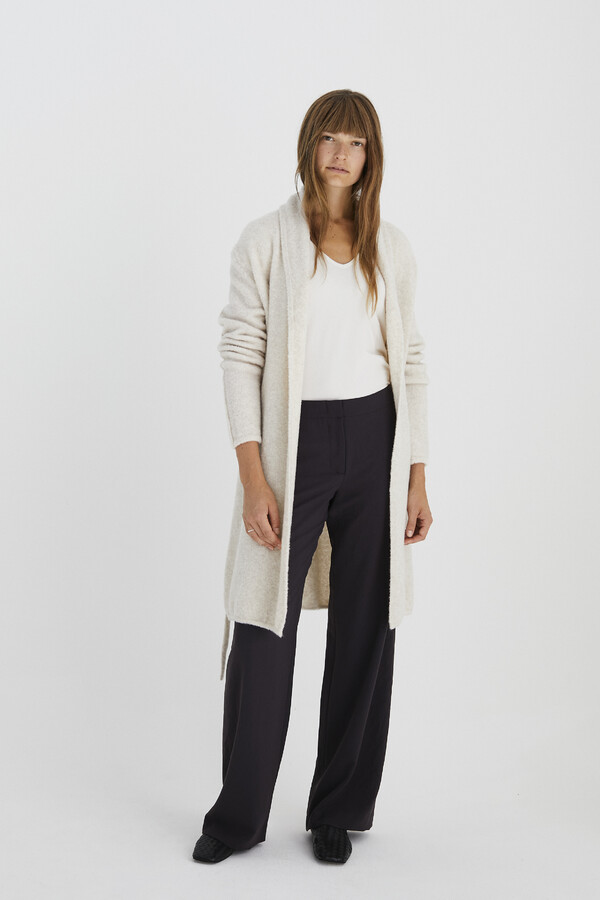 LONG CARDIGAN CREAM