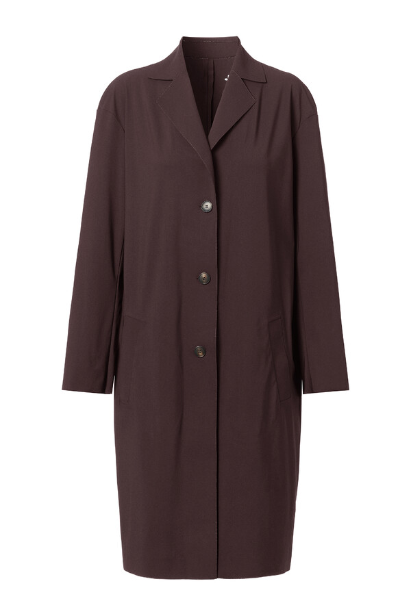 SPORTY COAT BROWN