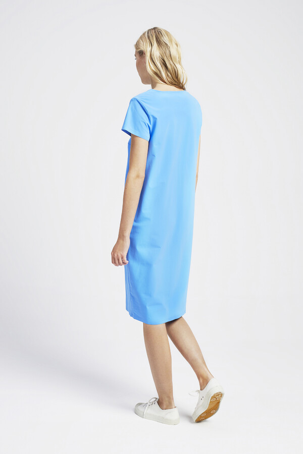 NEW POCKET DRESS AIR BLUE