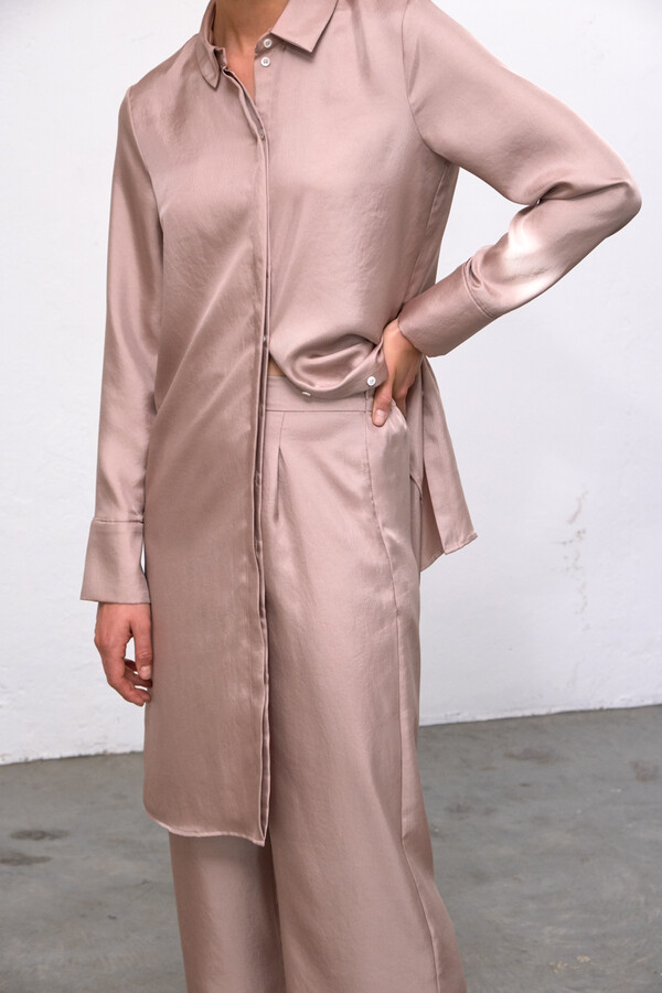 SILKY ERIN DRESS BLUSH