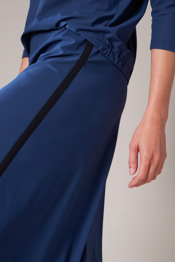 EASY FLAIR SKIRT DEEP BLUE