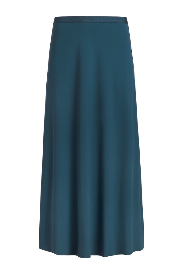 EASY FLAIR SKIRT DEEP TEAL