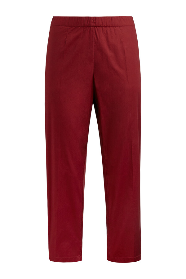 COTTON EASY CHINO CARDINALE